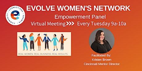 Evolve Women's Network: Empowerment Panel tickets