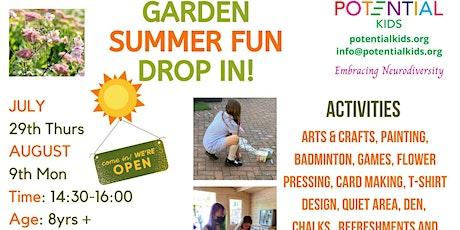 Summer Garden Drop In tickets
