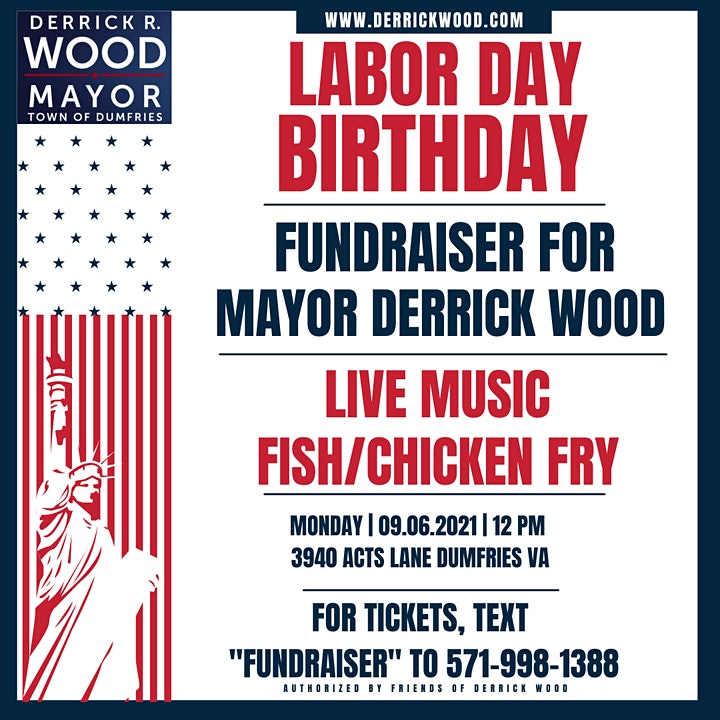 Mayor Wood Birthday Fundraiser image