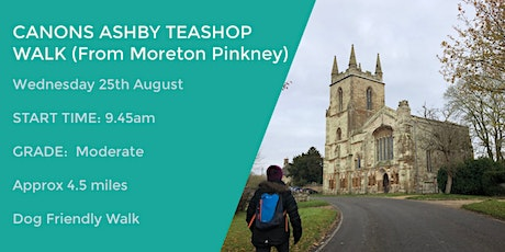 MORETON PINKNEY MEANDER | 4.5 MILES | EASY | NORTHANTS tickets