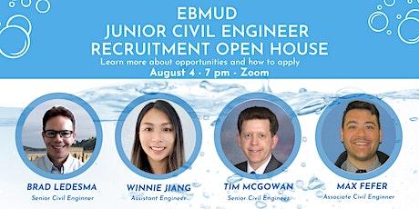 EBMUD Junior Engineer Recruitment Open House tickets