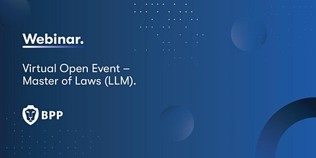 Virtual Open Event – Master of Laws (LLM) billets