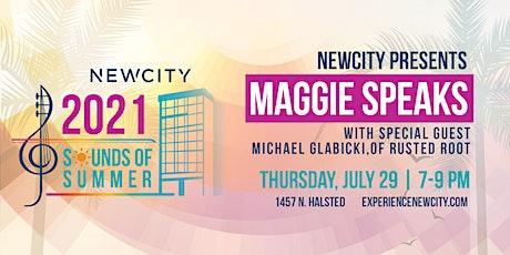 Maggie Speaks tickets