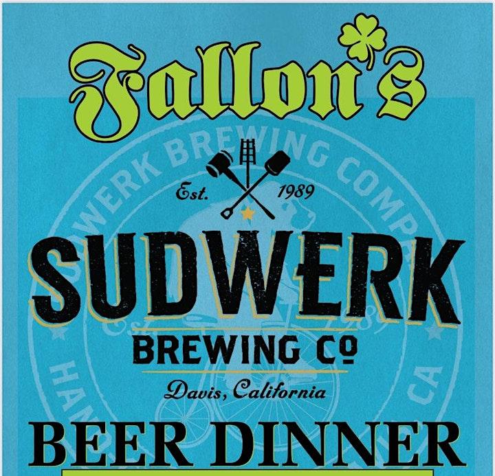 Fallon's Beer Dinner Feat Sudwerk Brewery! image