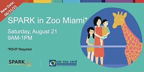 SPARK in Zoo Miami   Autism Family Event tickets