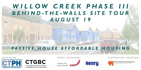 Willow Creek Phase III Site Tour tickets