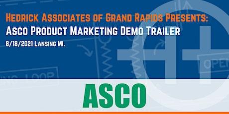 Asco Product Marketing Demo Trailer tickets