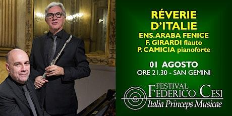 Réverie d'Italie biglietti