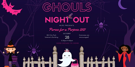 Purses for a Purpose-Ghouls Night Out 2021 tickets