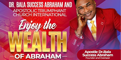 """""""ENJOY THE WEALTH OF ABRAHAM"""" Missions Conference tickets"""