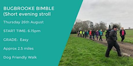 BUGBROOKE EVENING WALK | 2.5 MILES | MODERATE | NORTHANTS tickets