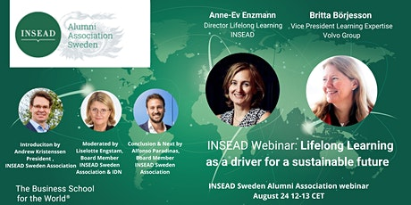 """Webinar """"Lifelong Learning as a driver for a Sustainable Future"""" tickets"""