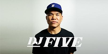 DJ FIVE at Vegas Nightclub - JULY 31 - Guestlist! tickets