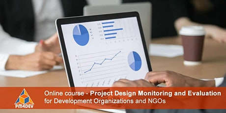 eCourse: Project Design Monitoring and Evaluation (August 2, 2021) tickets