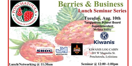 Berries and Business Lunch Seminar with Melissa Stilley tickets