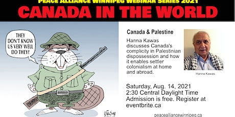 Canada, Settler Colonialism and Palestine tickets