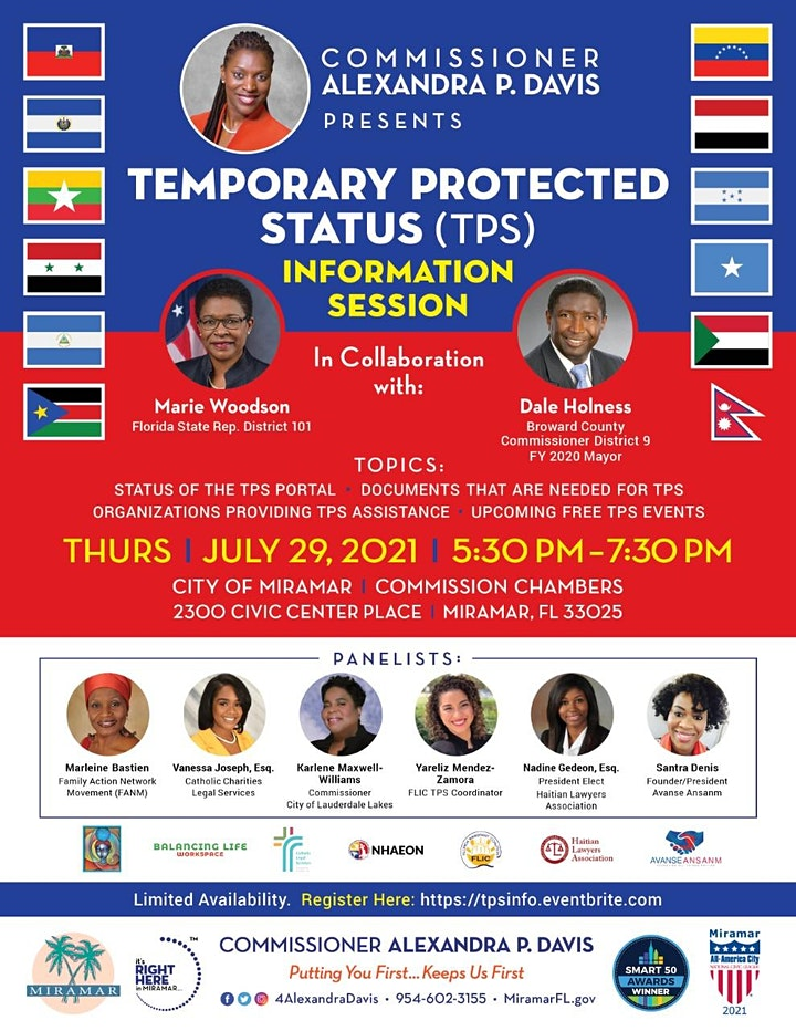 Temporary Protected Status (TPS) Information Session image