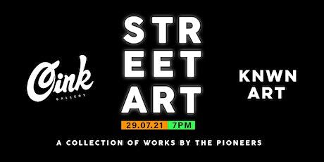 Street Art Exhibition tickets
