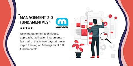 Management 3.0 fundamentals tickets