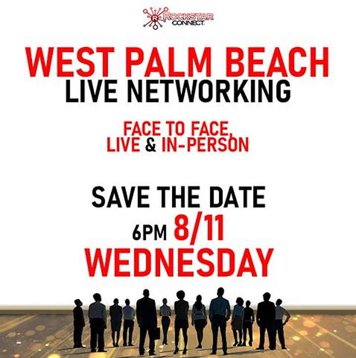 Free West Palm Beach Rockstar Connect Networking Event (August, Florida) image