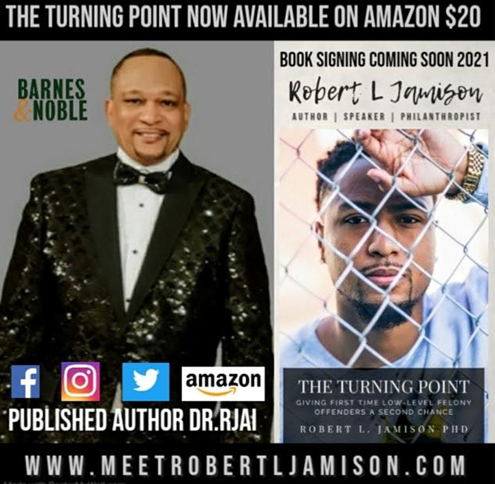 Meet & Greet with The Turning Point Author Robert L Jamison image