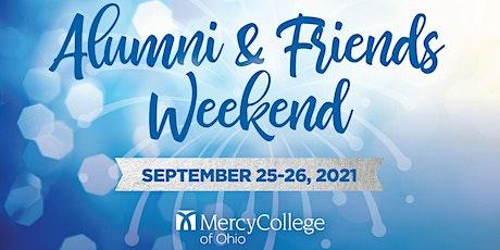 Alumni and Friends Weekend tickets