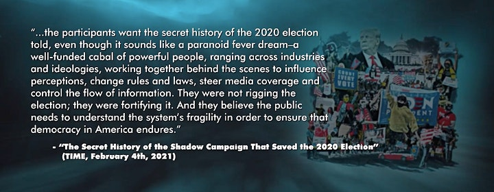 Fundraiser Movie Screening for Election Integrity Project CA image