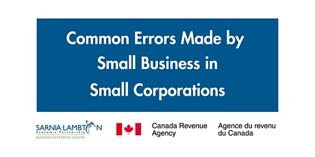 Common Errors Made by Small Business Corporations tickets
