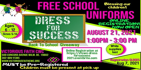 Dress for Success School Uniform Giveaway- New Castle County Residents ONLY tickets