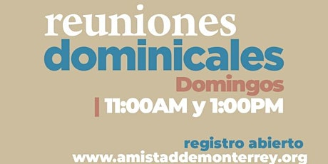 Reunión Presencial 11:00AM(25 Julio) tickets