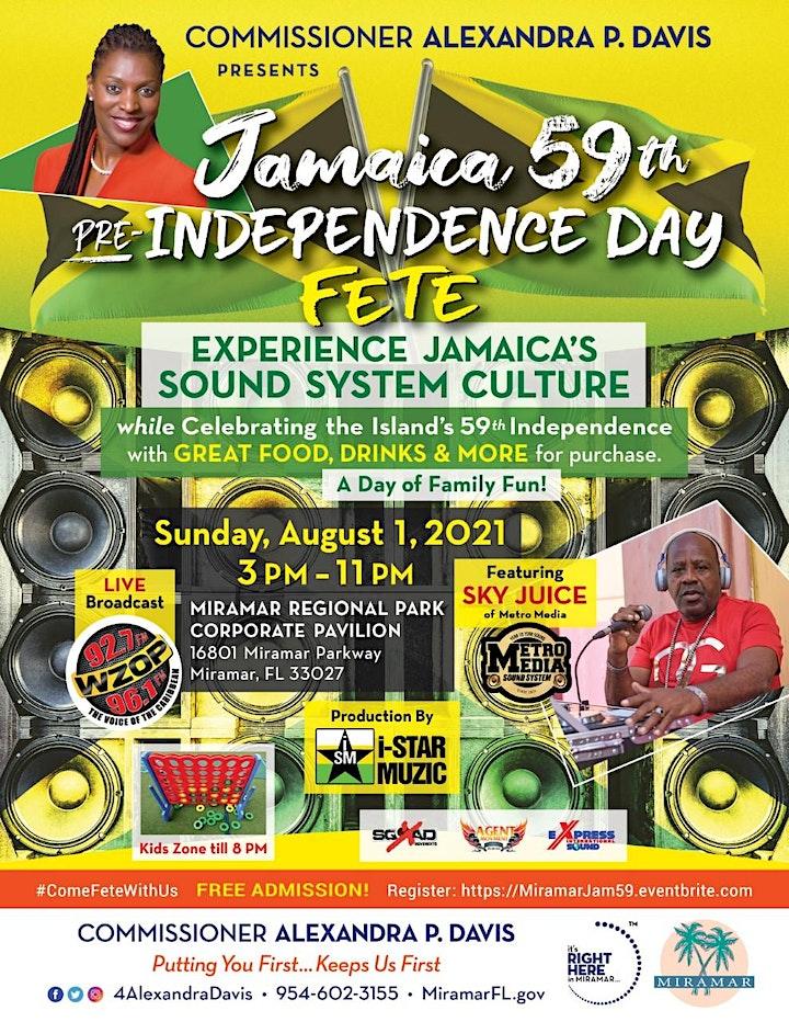 Alexandra P. Davis Presents Jamaica 59th  Pre-Independence Day Fete image