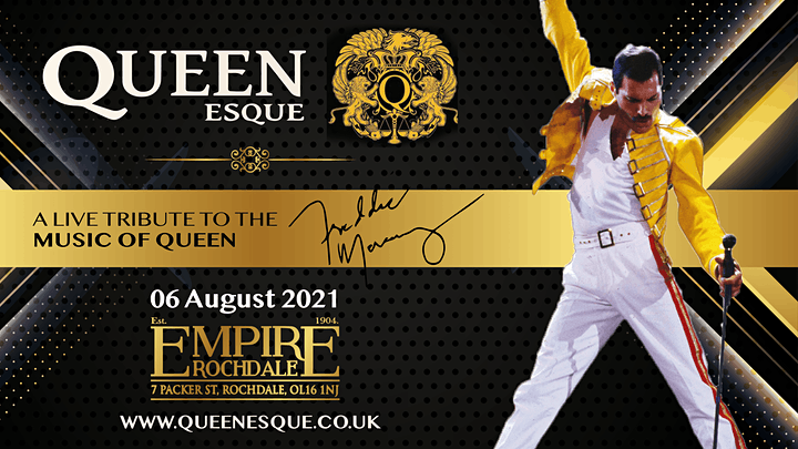 QUEENesque - A live tribute to the music of Queen image
