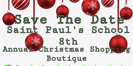 St Paul 8th annual Christmas boutique tickets