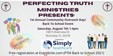 Community Outreach Day/Back to School Event tickets