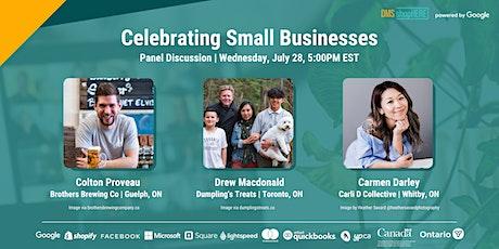 Celebrating Small Businesses | Entrepreneurs Share Digital Success Stories Tickets