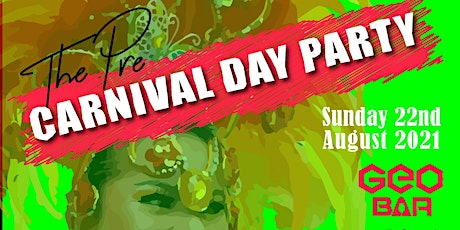 Pre carnival day party tickets