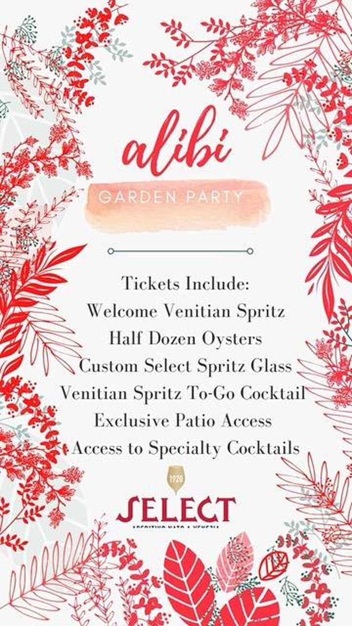 Alibi Garden Party image