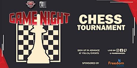 FSU Game Night: Chess Tournament billets