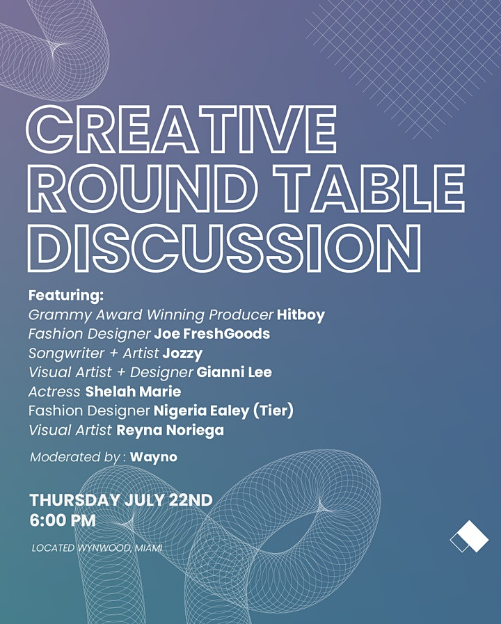 Creative Round Table Discussion image