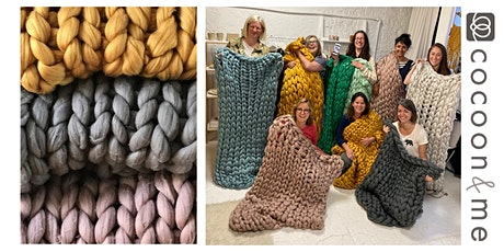 Arm Knitting Blanket Workshop - Worthing tickets