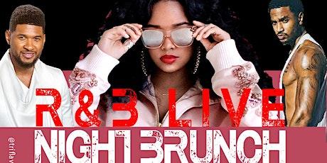 R&B Live Night Brunch tickets