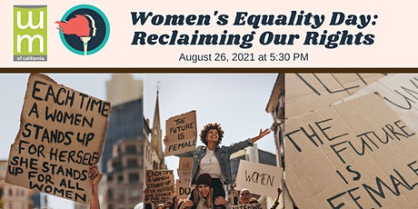 Virtual Women's Equality Day: Reclaiming Our Rights tickets