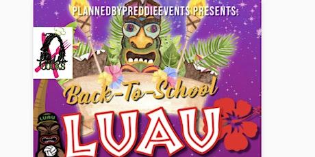 Back2School Luau tickets