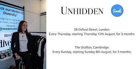 Unhidden co retail space launch tickets
