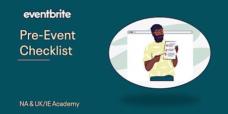 Eventbrite Academy: Pre-Event Checklist tickets