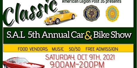 S.A.L. 5th Annual Car & Bike Show tickets