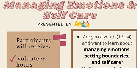 Online Roadshow: Managing Emotions and Self-Care tickets