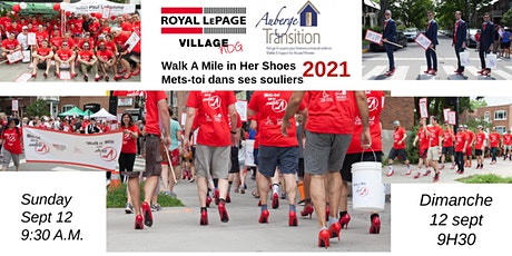 Walk-A-Mile Royal LePage Village for Auberge Transition 2021 tickets