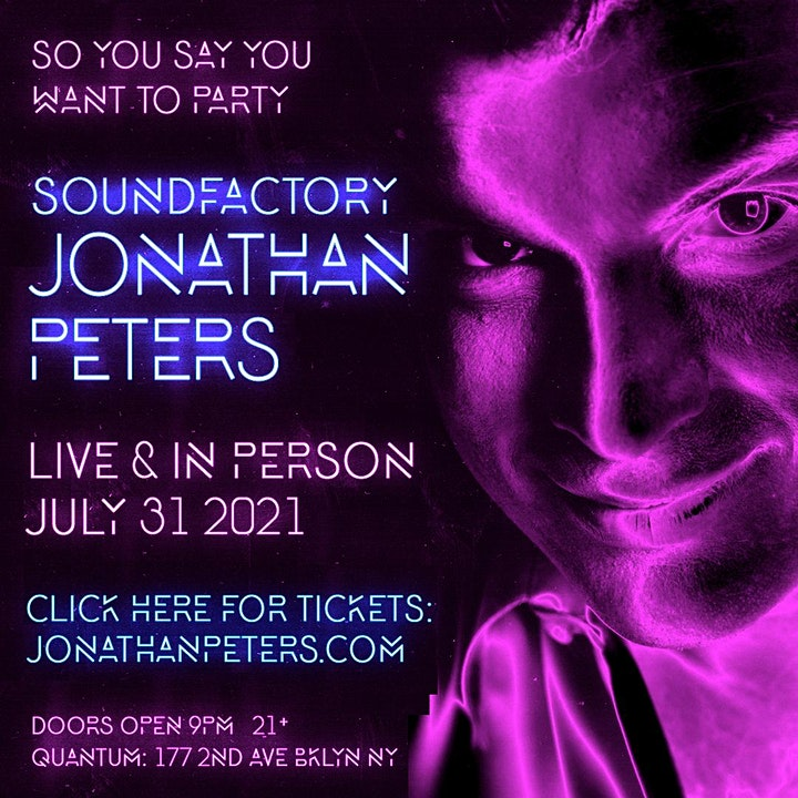 SoundFactory with Jonathan Peters - tickets available at door image