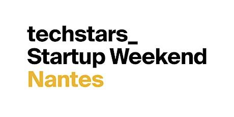 Startup Weekend Nantes 10/21 billets